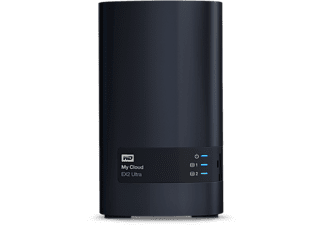 WESTERN DIGITAL NAS-server My Cloud EX2 Ultra 8TB (WDBVBZ0080JCH-EESN)