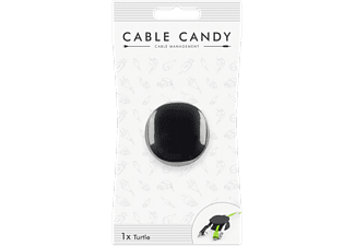 CABLE CANDY Kabelmanager Turtle, 4-fach Universal, schwarz