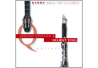 Stephan, Joscho & Eisel, Helmut Quartett - Gypsy Meets The Klezmer - (CD)