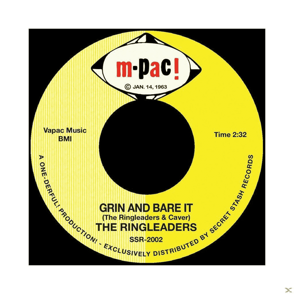 Ringleaders - Grin And Bare It / I´ve Got To Find My Baby - (Vinyl)