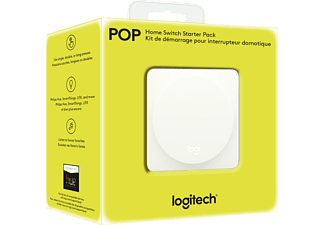 LOGITECH 915-000284 Pop Home Switch, Starter Kit, kompatibel mit: WLAN, Bluetooth