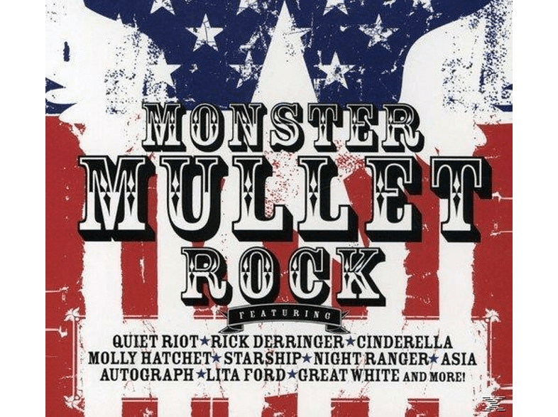 VARIOUS - Monster Mullet Rock [CD]