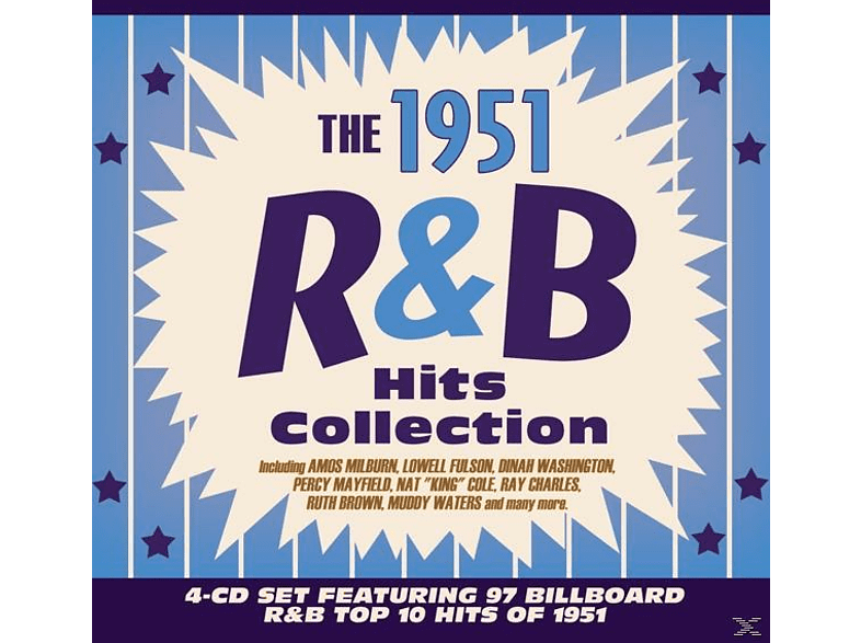 VARIOUS - The 1951 R&B Hits Collection [CD]