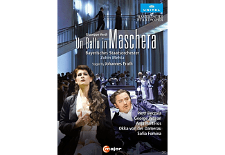 Piotr Beczala, George Petean, Anja Harteros, Okka Von Der Damerau, Tiziano Mancini, Bayerisches Staatsorchester, Chorus Of The Bayerische Staatsoper - UN BALLO IN MASCHERA - (DVD)