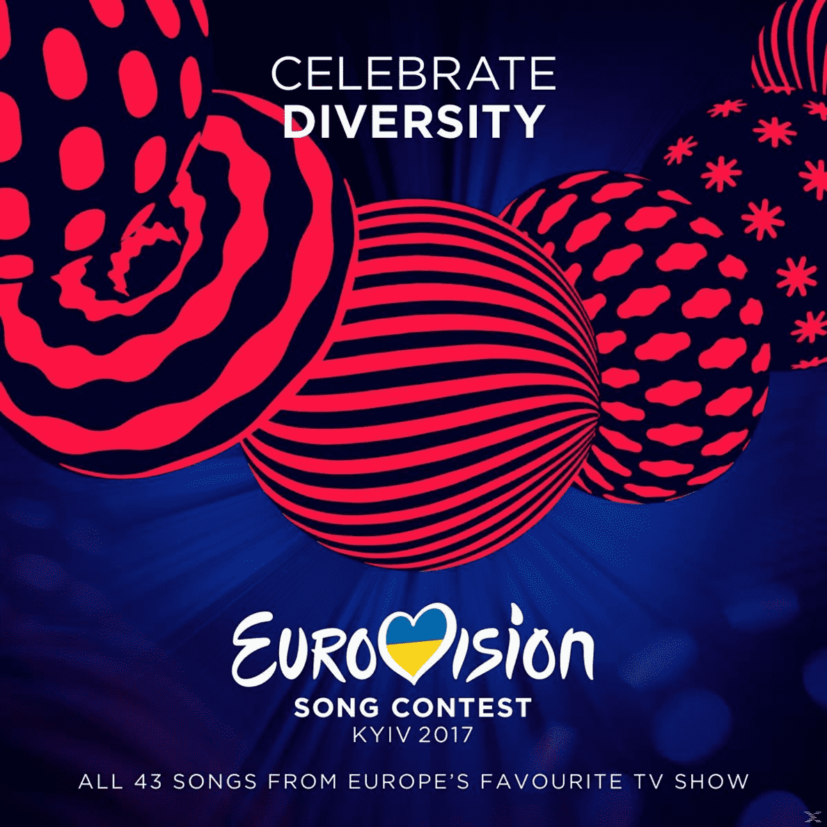 Eurovision Song Contest-Kiew 2017 VARIOUS auf CD
