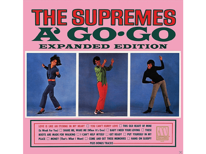 The Supremes - THE SUPREMES A GO-GO [CD]
