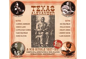 Texas Alexander - AND HIS CIRCLE 1927-51 - (CD)