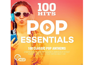 VARIOUS - 100 HITS POP ESSENTIALS - (CD)
