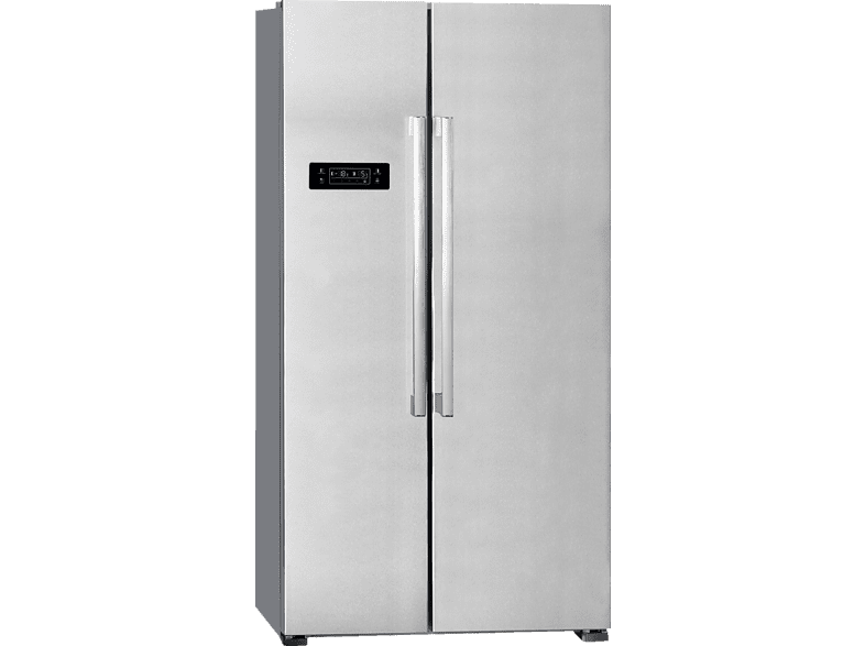 EXQUISIT  SBS 550-4 Side-by-Side (366 kWh/Jahr, A++, 1770 mm hoch, Inox) | 04016572020571