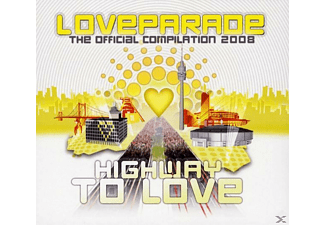 VARIOUS - Loveparade 2008 [CD + DVD Video]