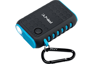 PNY The Outdoor Charger, Powerbank, 7800 mAh, Schwarz
