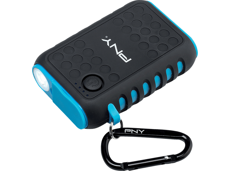 PNY The Outdoor Charger Powerbank 7800 mAh Schwarz