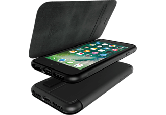 ADIDAS Folio Grip Case Handyhülle, Schwarz, passend für Apple iPhone 7 Plus