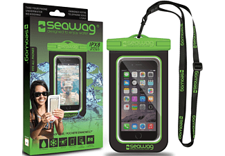 SEAWAG Β4Χ Waterproof Case For Smartphone Black & Green
