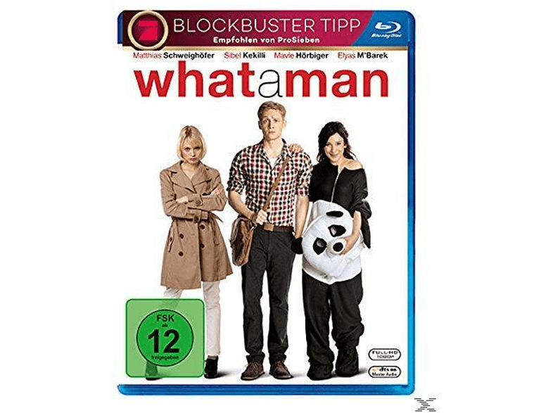 What A Man [Blu-ray]