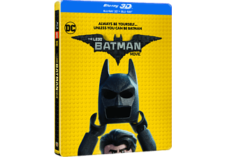 LEGO Batman - A film (Steelbook) (3D Blu-ray)