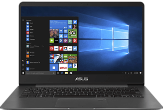 ASUS UX3430UQ-GV010T, Notebook mit 14 Zoll Display, Core™ i7 Prozessor, 16 GB RAM, 256 GB SSD, GeForce 940MX, Gray Metal