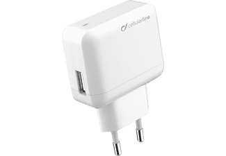 CELLULARLINE Adaptateur secteur USB Charger Ultra - Fast Charge (ACHUSBMOBILE2AW)