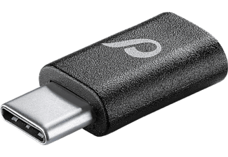 CELLULARLINE Adaptateur microUSB - USB-C Compact Adaptor (CHADUSBCK)
