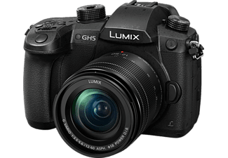 PANASONIC Hybride camera Lumix G DC-GH5 + 12-60 mm (DC-GH5LEF-K)