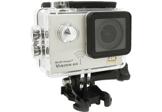 GOXTREME Vision 4K Action Cam, WLAN, Silber