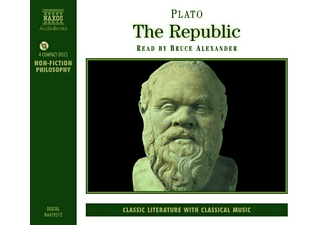 Platon - The Republic - 4 CD - Hörbuch