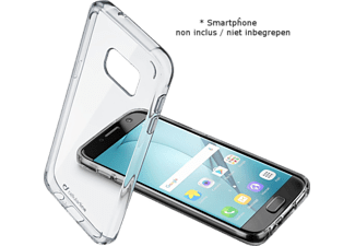 CELLULARLINE Soft cover Clear Duo Galaxy A5 (2017) (CLEARDUOGALA517T)
