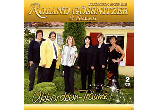 Akkordeon Ensemble Roland Gössnitzer & Sextett - Akkordeon-Träume - (CD)