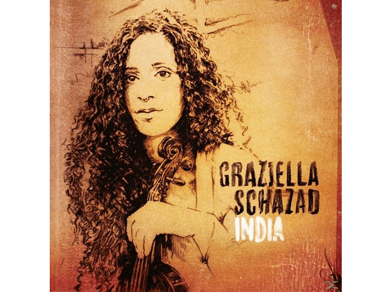 Graziella Schazad - India [CD]