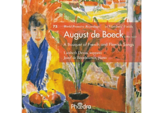 Liesbeth Devos, Jozef De Beenhouwer - A Bouquet of French And Flemish Son - (CD)