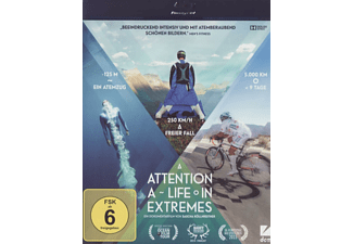 Attention: A Life in Extremes (inkl.Hörfilmfassung) [Blu-ray]