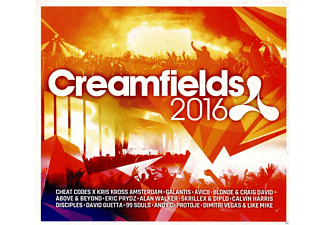 VARIOUS - Creamfields 2016 - (CD)