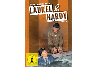 Laurel & Hardy (Dick & Doof) Vol.3-Best Comedy Team - (DVD)