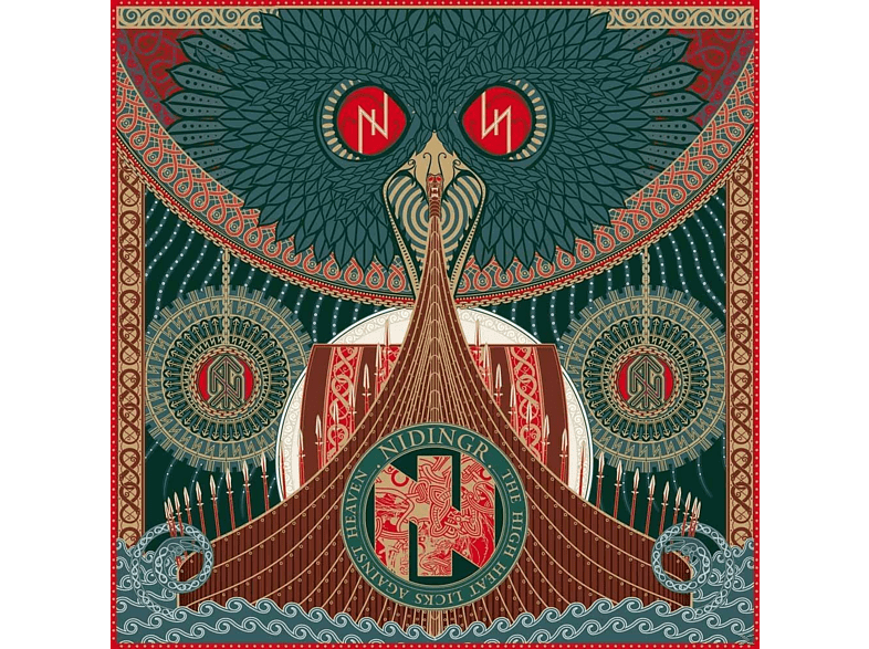 Nidingr - The High Heat Licks Against Heaven (Black Vinyl) [Vinyl]
