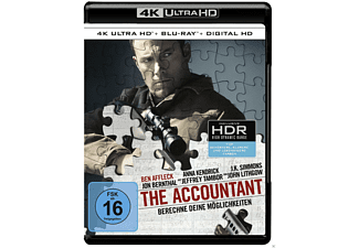The Accountant [4K Ultra HD Blu-ray + Blu-ray]
