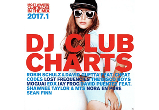 VARIOUS - DJ Club Charts 2017.1 - (CD)