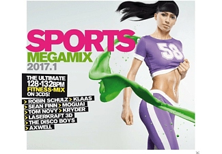 VARIOUS - Sports Megamix 2017.1 Your Workout Favourites - (CD)