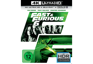 Fast & Furious 6 - (4K Ultra HD Blu-ray + Blu-ray)
