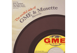 VARIOUS - The Soulful Side Of GME & Musette Records - (LP + Download)