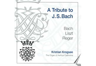 Kristian Krogsoe - A Tribute to J.S.Bach - (CD)