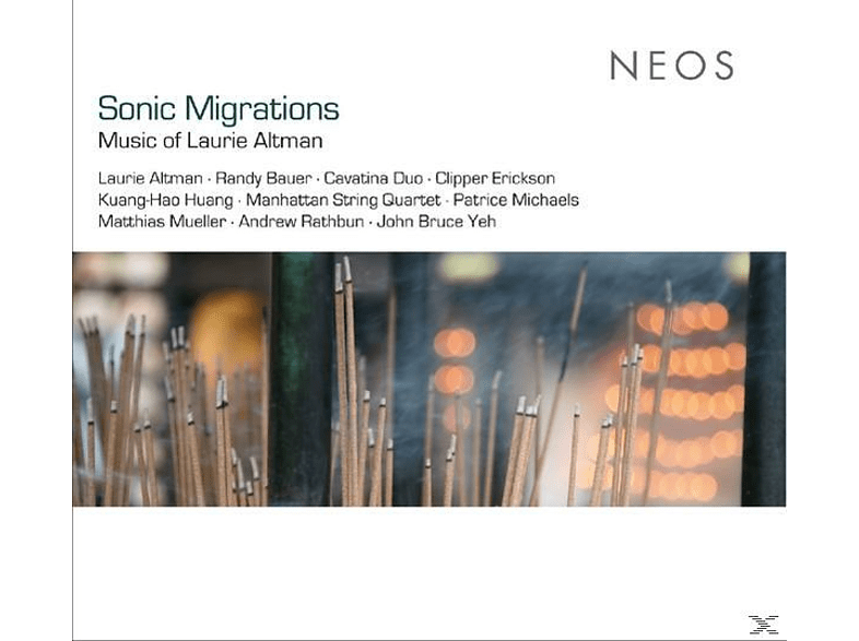 Clipper Erickson, Manhattan String Quartett - Sonic Migrations [CD]