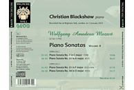 Christian Blackshaw - Mozart Piano Sonatas 4 [CD]