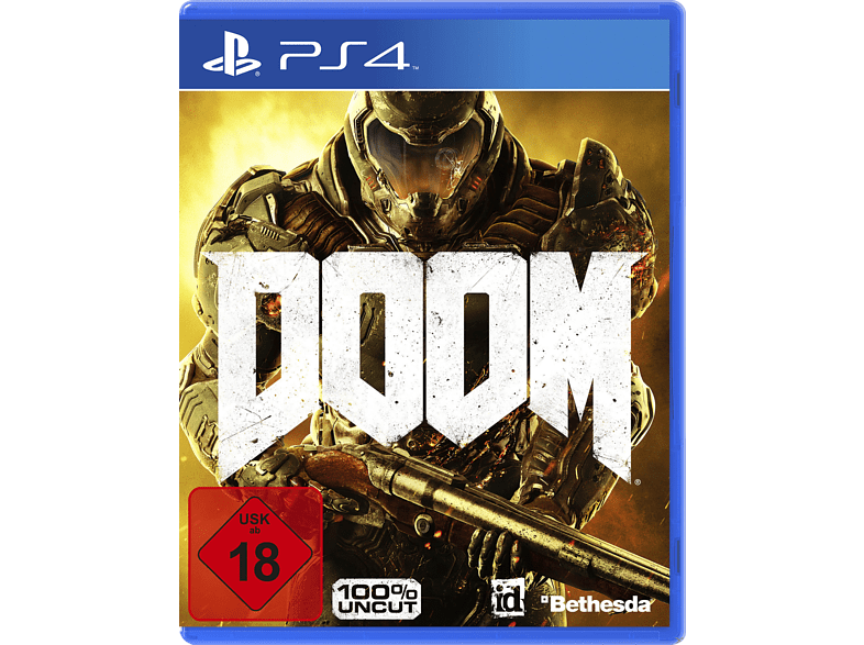 DOOM - 100% Uncut (Software Pyramide) [PlayStation 4]