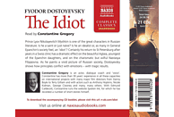 Constantine Gregory - The Idiot - (CD)