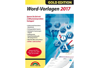 Word Vorlagen 2017 - Gold Edition