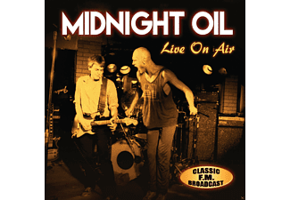 Midnight Oil - Live On Air/Radio Broadcast - (CD)