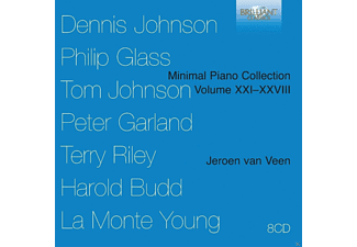Jeroen Van Veen - Minimal Piano Collection Volume XXI-XXVIII - (CD)
