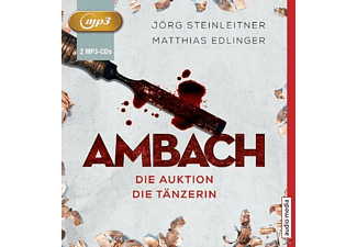 Ambach - Die Auktion/Die Tänzerin (1-2) - 2 MP3-CD - Krimi/Thriller