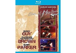 Carlos Santana - Carlos Santana Presents Blues At Montreux (Bluray) - (Blu-ray)