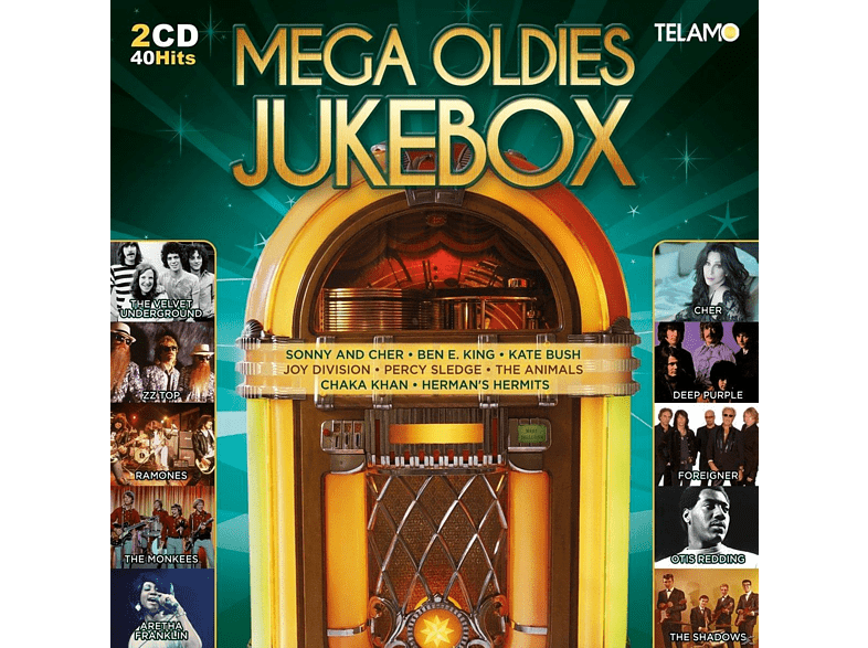 VARIOUS - Mega Oldies Jukebox [CD]